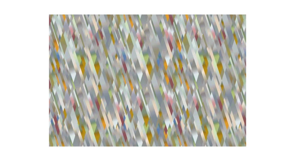 diagonal gradient pastel moooi carpets on white