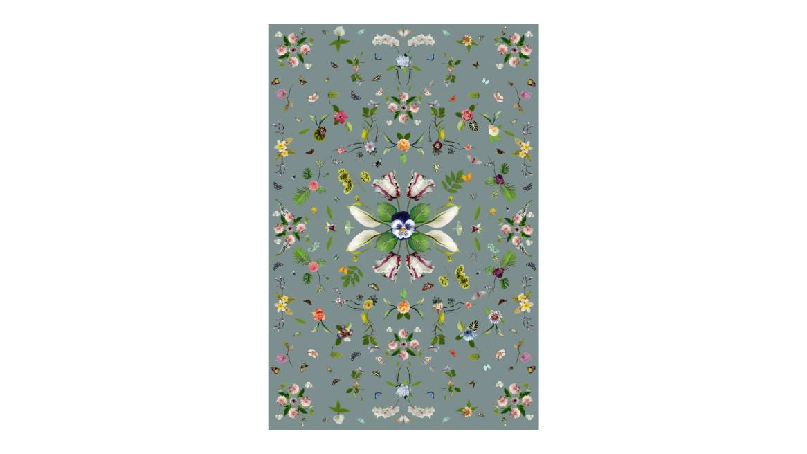 Garden of Eden Grey Moooi Carpets On White