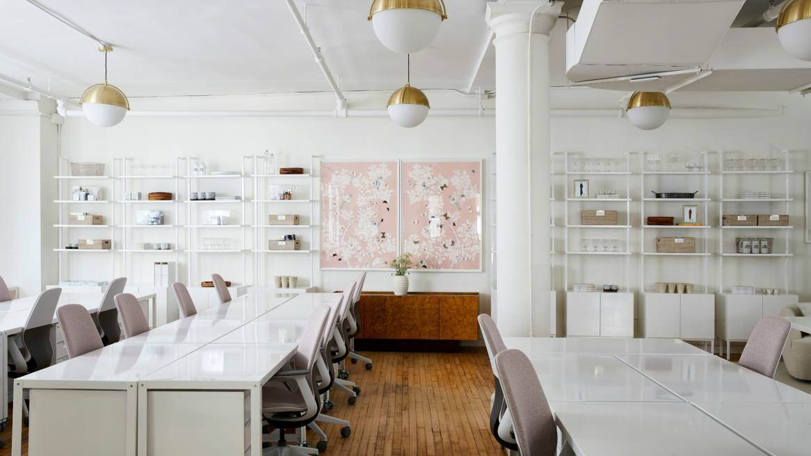 360 magazine inside goop's revamped new york office