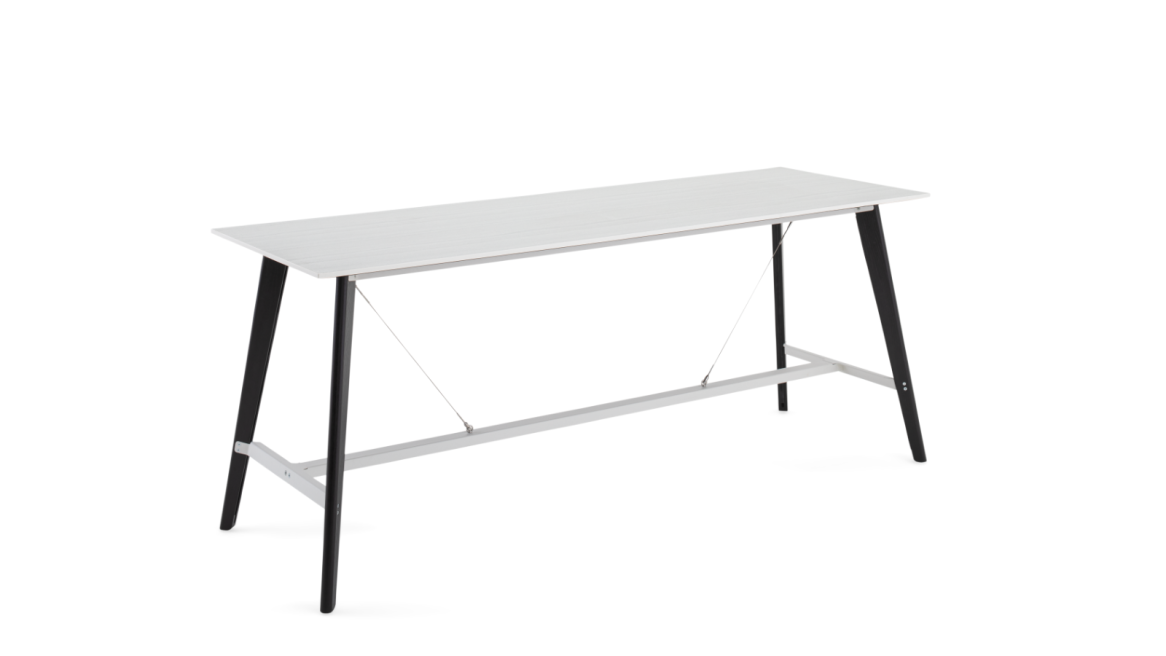 Orangebox Cubb Table On White