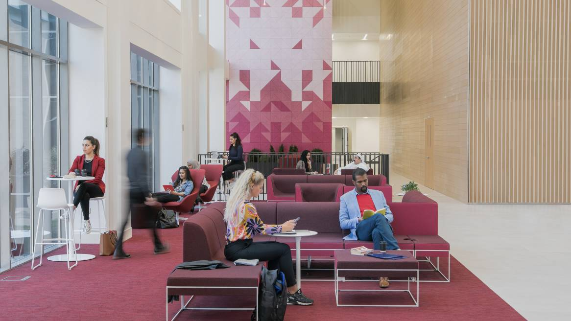 An Innovative College Experience In Kuwait Steelcase