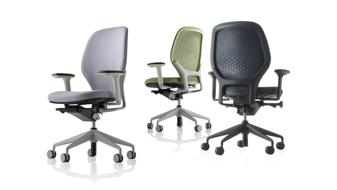Ara Orangebox Office Chair On White