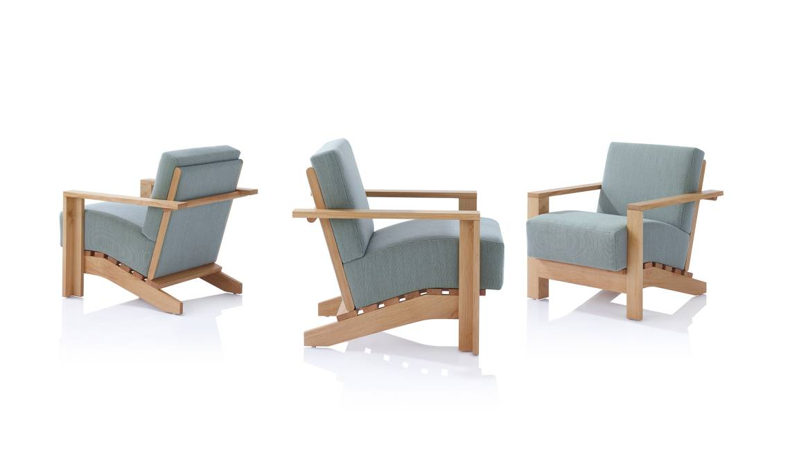 Dench Orangebox Lounge Chair On White