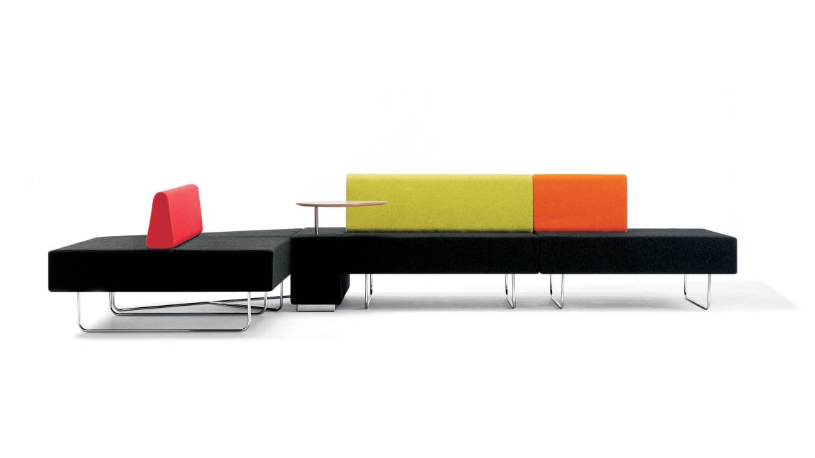 Boundary Orangebox Lounge Seating On White