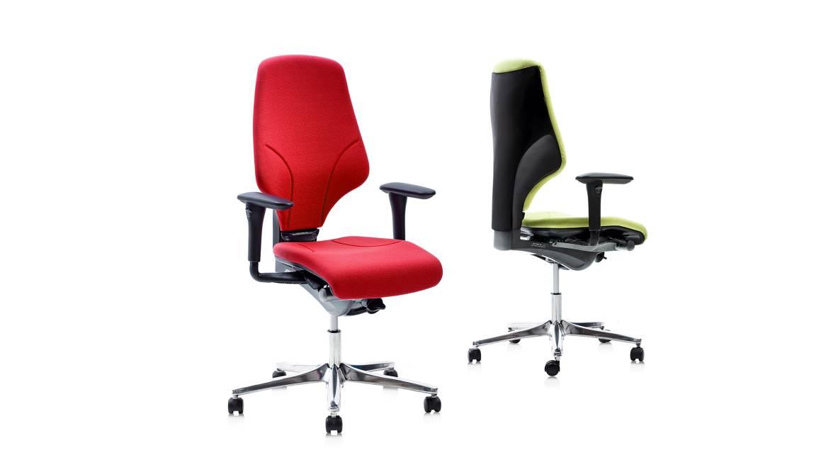 G64 Orangebox Office Chairs On White