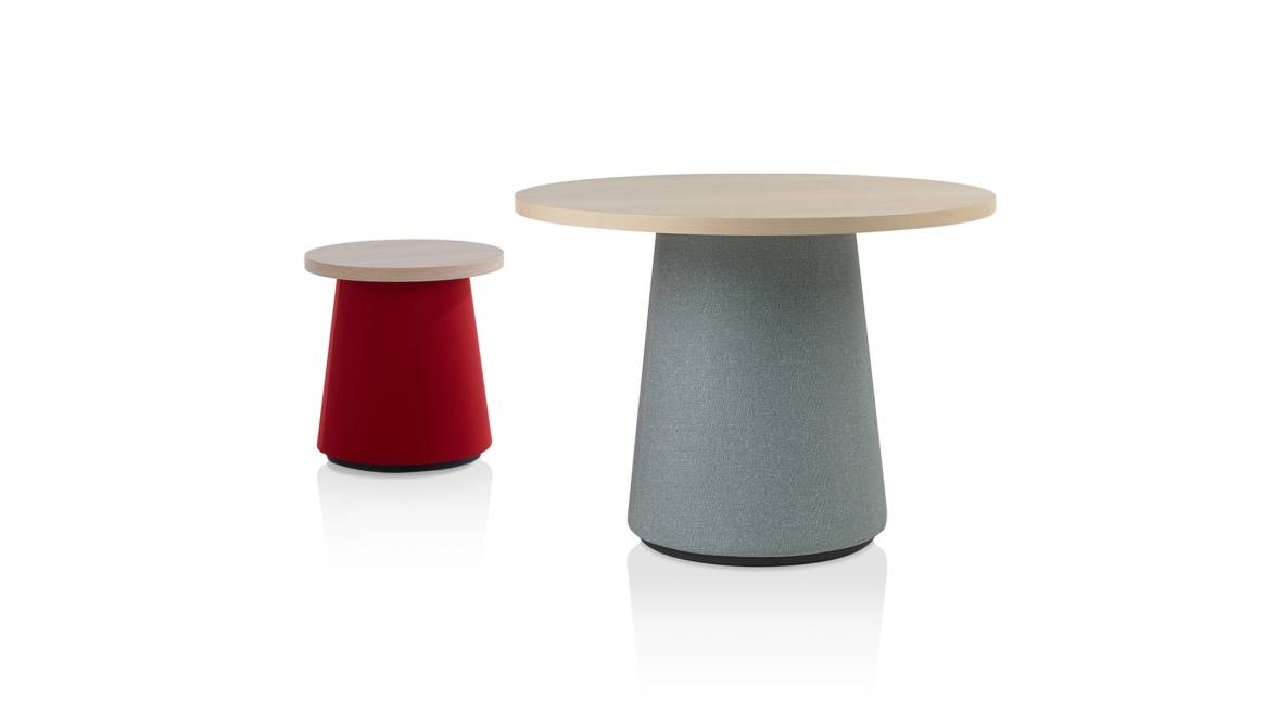 Hep Orangebox Occasional Tables On White