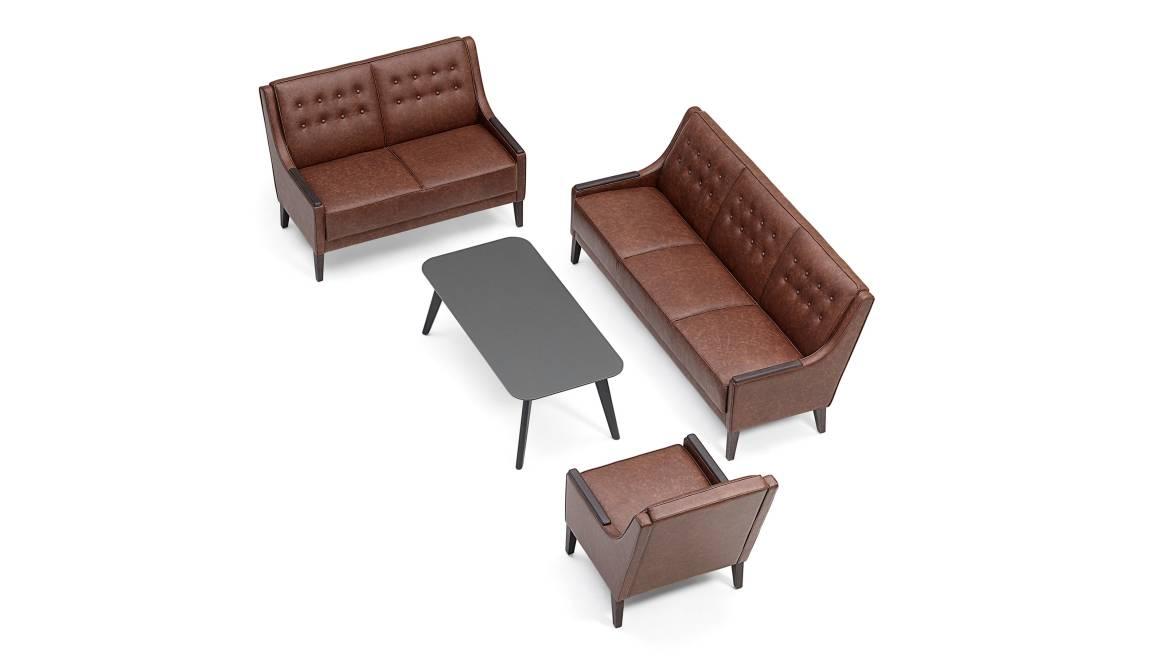Lismore Orangebox Lounge Seating On White