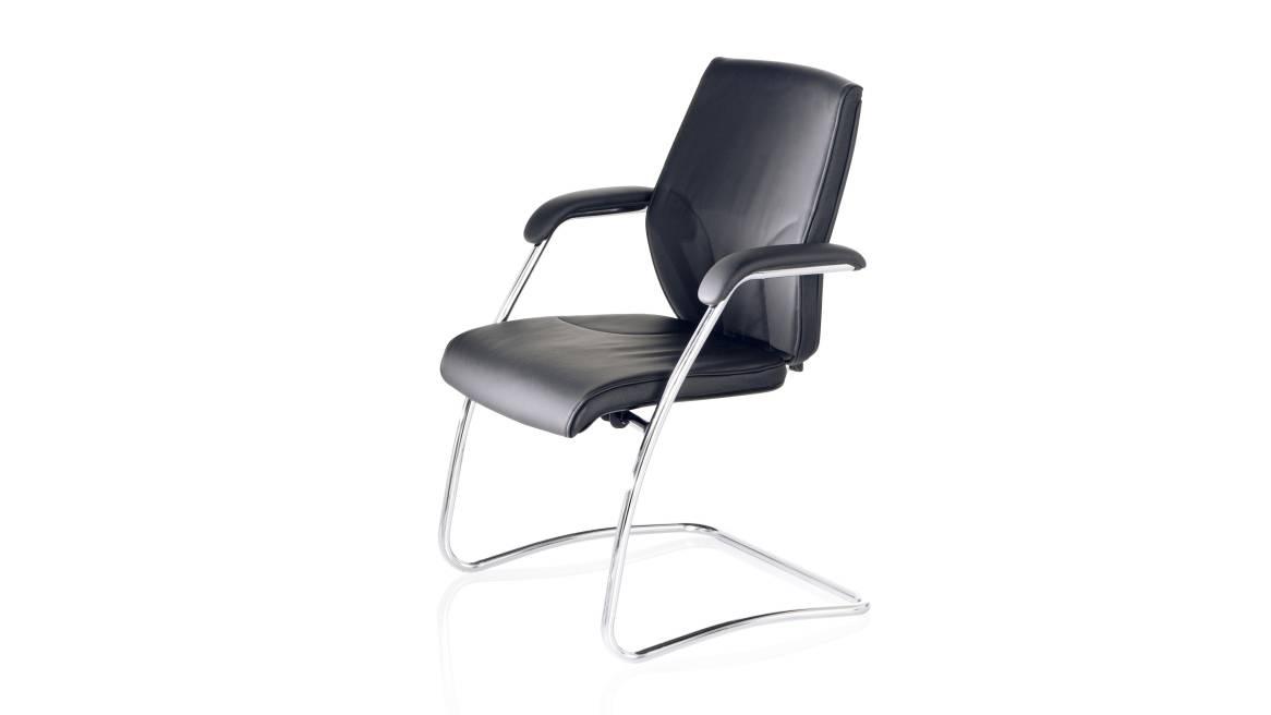 G64 Meeting Orangebox Guest Chair On White