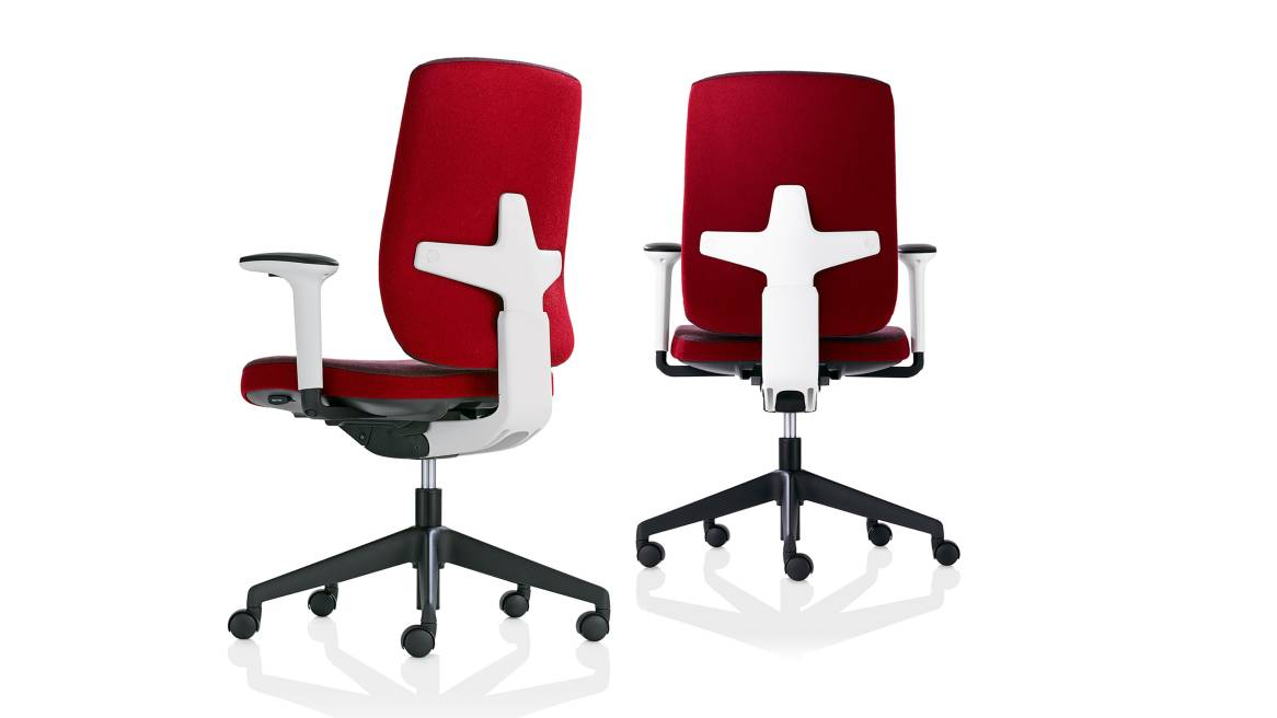 Seren Orangebox Office Chairs On White