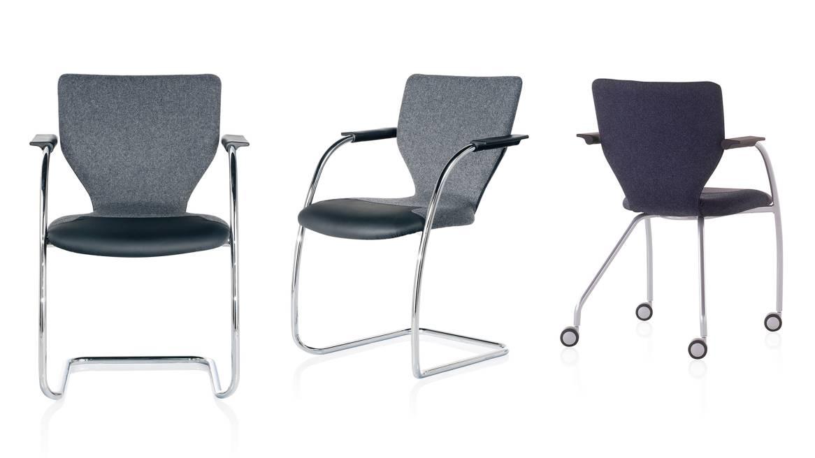 X10 Orangebox Guest Chairs On White