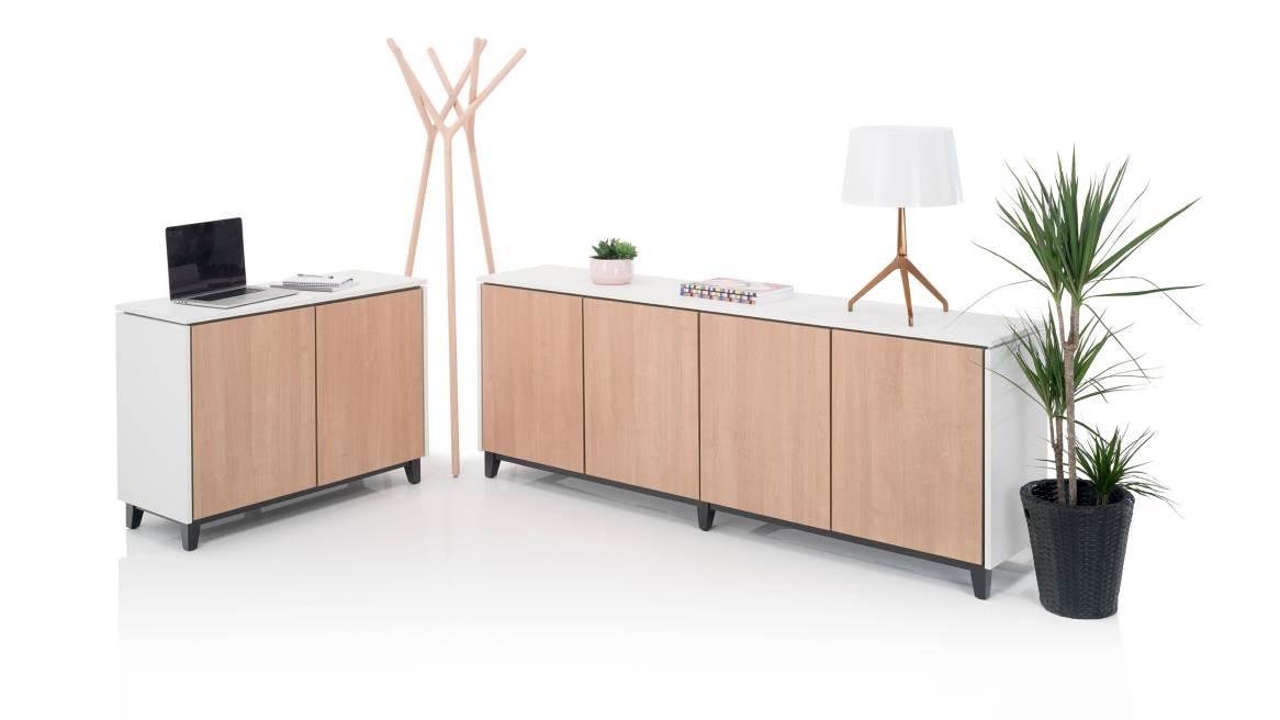 Vari Orangebox Cupboards+Cabinets On White