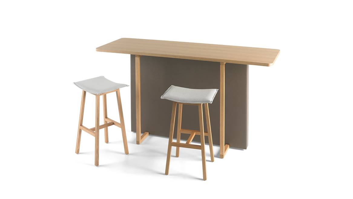 Orangebox Java Meeting Table On White