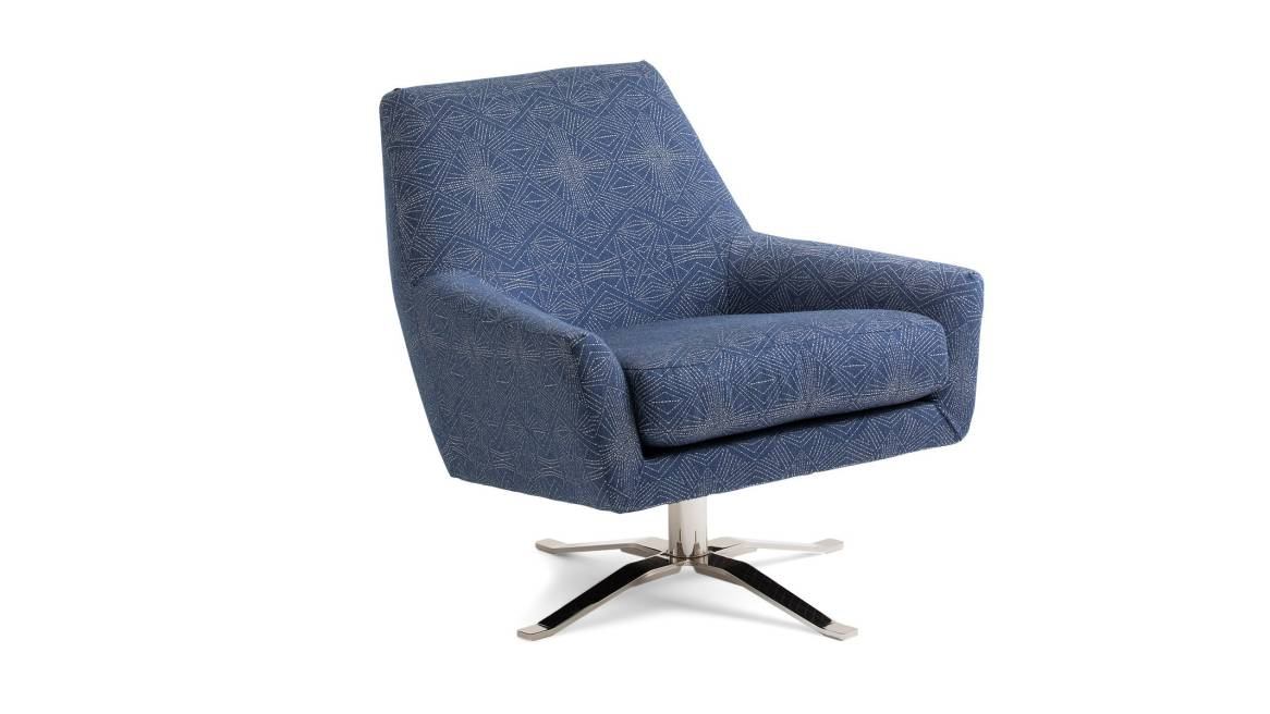 west elm lucas swivel chair