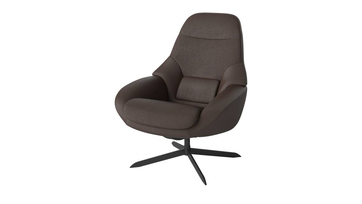 Bolia Saga Grand Armchair with Quattro Brown fabric