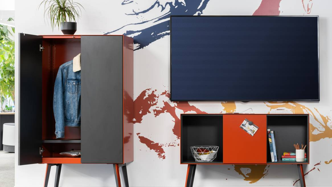 Volum Art Wardrobe and Credenza