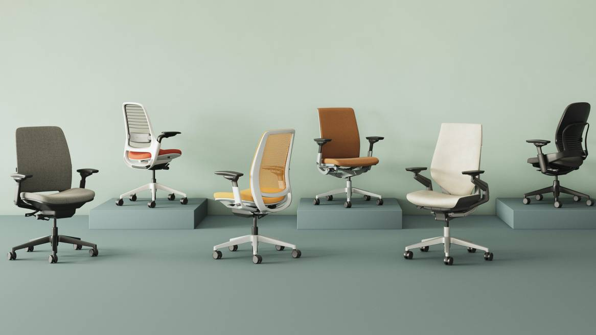 Image of: Office Chairs Modern Desk Task Seating Steelcase