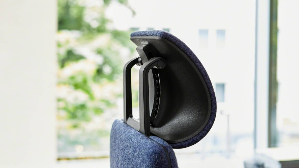 Close-up to a Gesture head rest