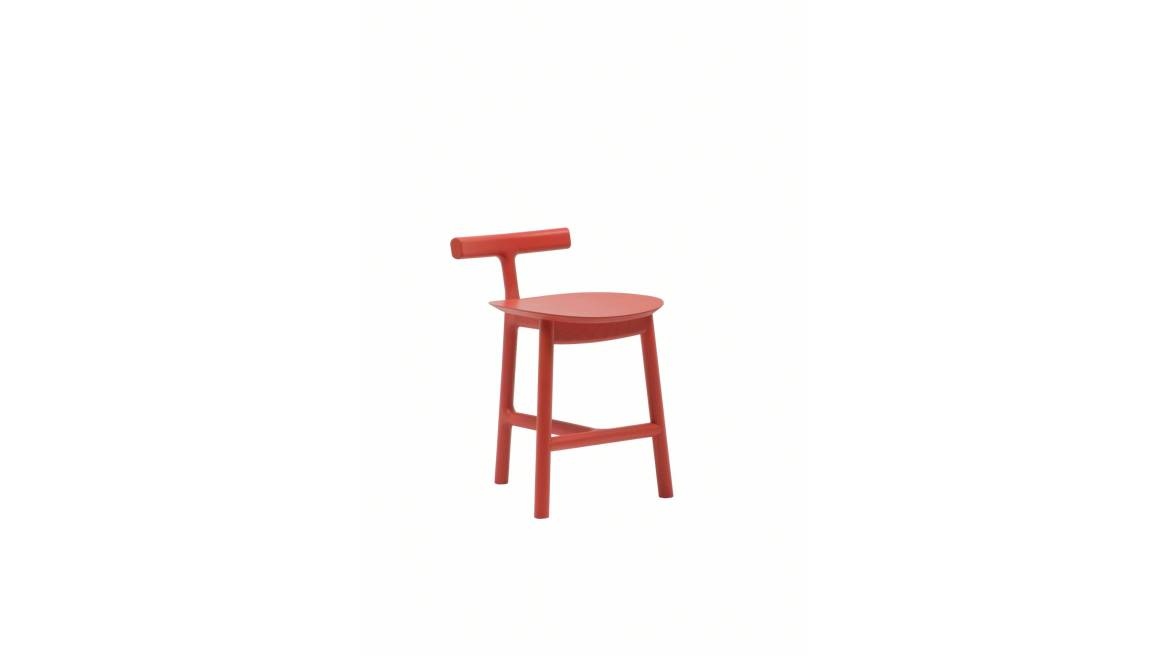 Radice Chair in red ash