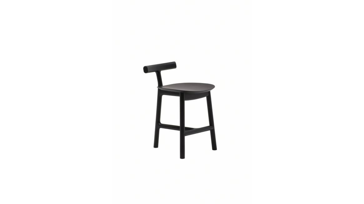 Radice chair on black ash