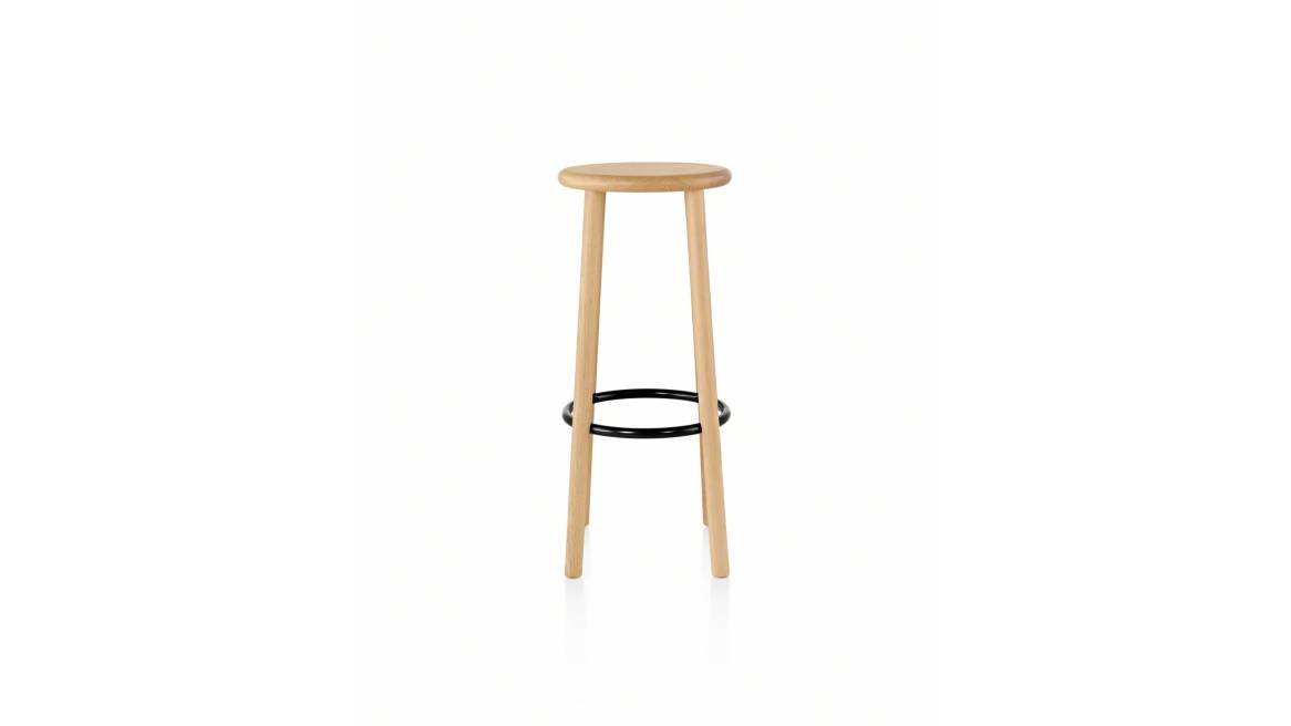 Solo Stool on natural ash