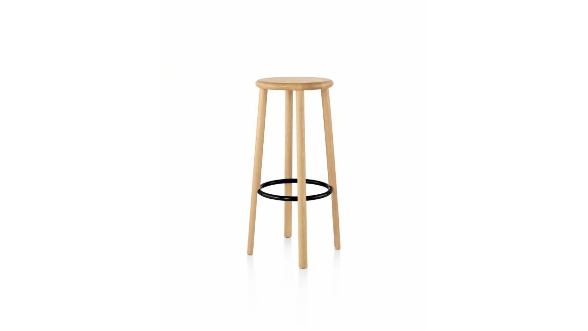 Solo Stools on natural ash