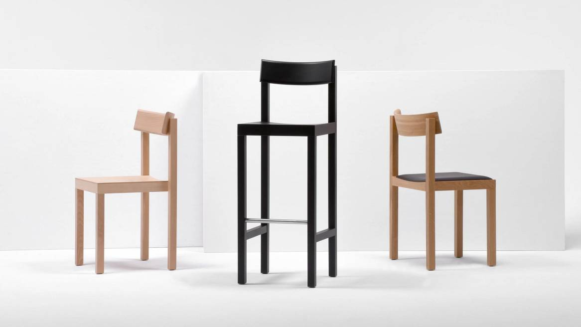 Mattiazzi Primo Chairs and Stool in a variety of colors