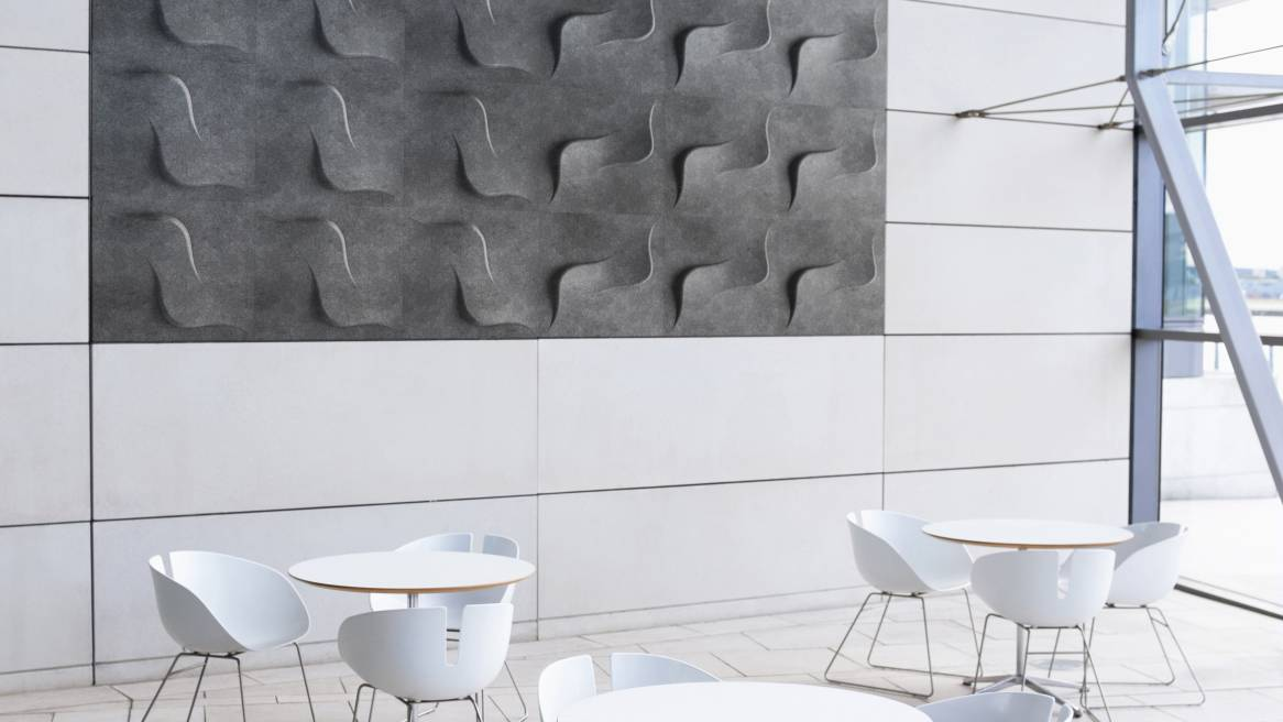 Twist FeltForms Acoustic Tiles