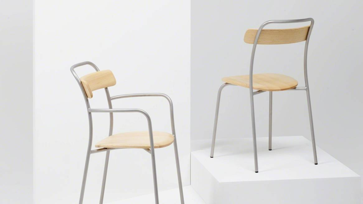 Forcina Armchair, Natural Ash