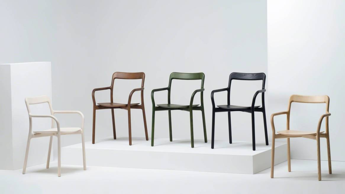 Branca Chair, Black Ash