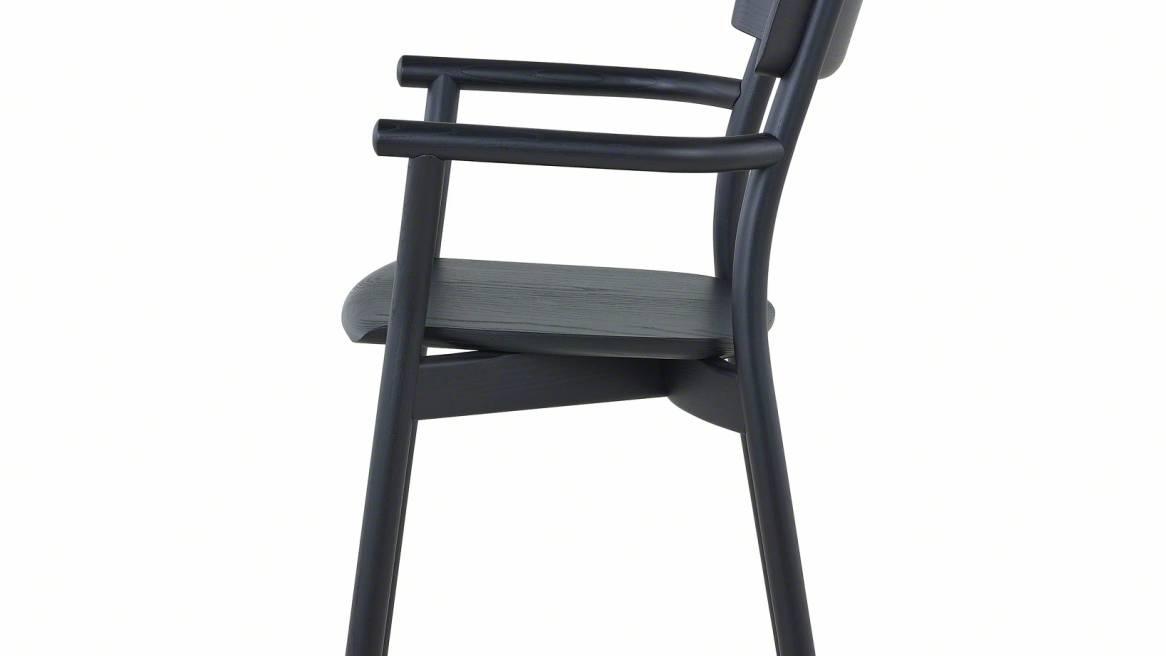 Chiaro Armchair, Black Ash