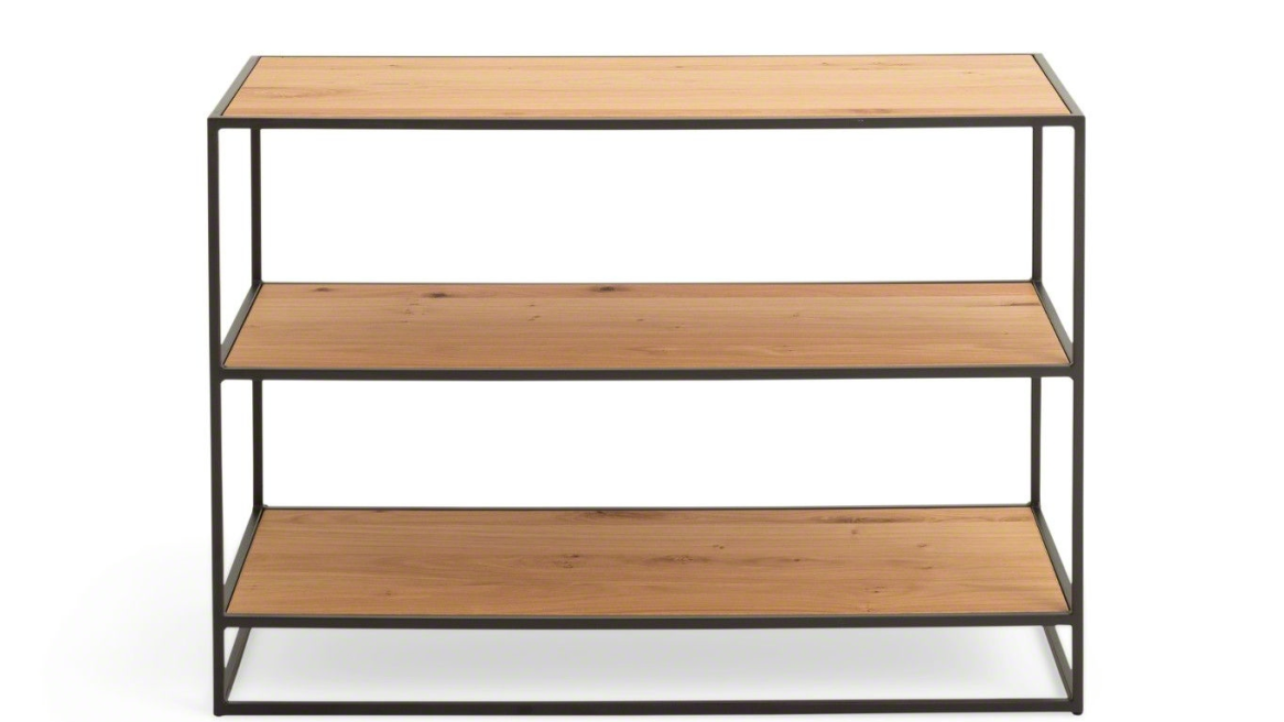 Greenpoint; Bookcase-Low, Open