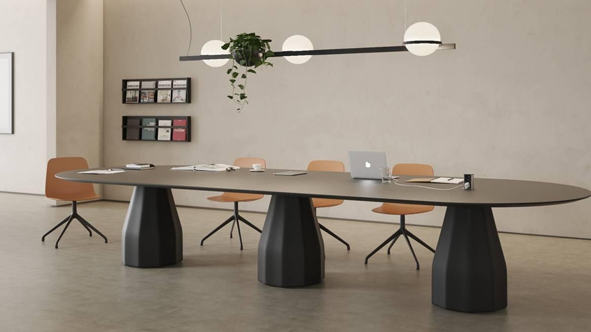 Burin Table Oval