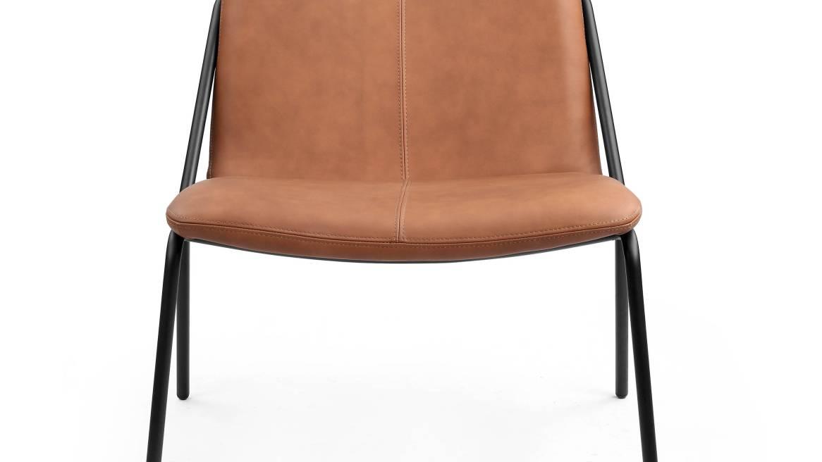 Sling Lounge, upholstered