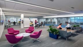 360 magazine la z boy reflects culture in new office