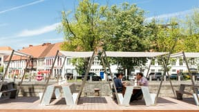 360 Magazine Steelcase to Distribute Extremis Outdoor Furniture