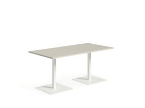 Sylvi Collaborative Booth Table On White