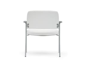 on white image of a sorrel chair with arm rest