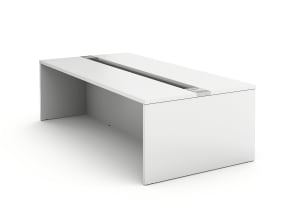 BIG TABLE WITH TROUGH SEATING HEIGHT