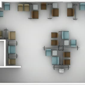 Aspekt, Health Separation Screens, Opus Table, V.I.A.