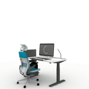 Steelcase Gesture Chair Steelcase, Migration Desk Steelcase,Soto Rail Steelcase, Soto Desk Pad Steelcase, Light Task Led