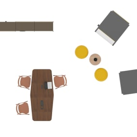SE Pro Meeting Table, Coalesse LessThanFive, Orangebox Sully, Orangebox Hep