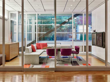 Together Bench + Wrapp Chair - Collaboration Spaces