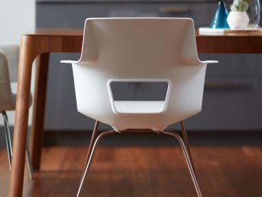 Back of Shortcut X Base Chair