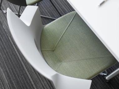Top view of Shortcut X Base chair