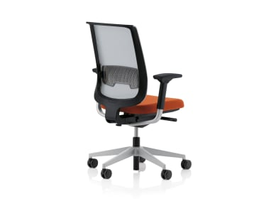 Reply office chair on white