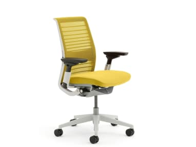 Think office chair on white