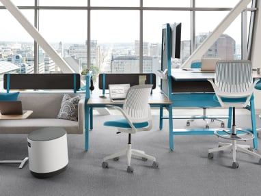 Bivi desk and Cobi chair