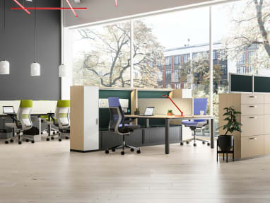 Gesture office chair and Share It Collection
