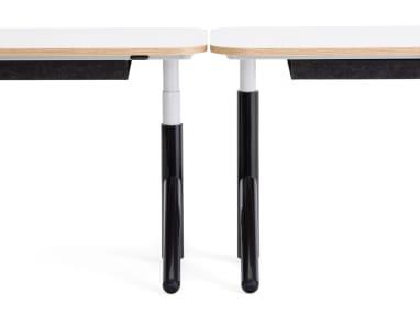 steelcase flex sit to stand desk