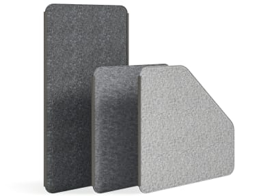 Steelcase Flex Screens on white
